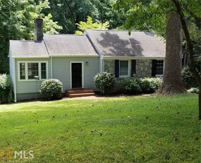 Decatur Single Family Home New: 1208 Thomas Rd
