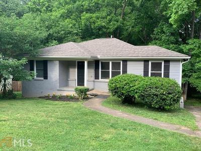 Atlanta Single Family Home New: 2040 SEttle Circle SE