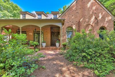 Sandy Springs Single Family Home For Sale: 90 Wing Mill Rd