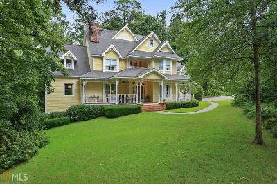 Johns Creek Single Family Home New: 5390 Skidaway Dr
