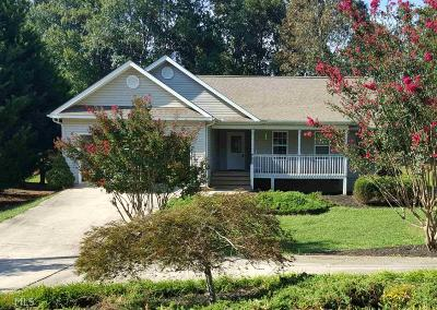 Habersham County Single Family Home Under Contract: 136 Rocky Shoals Dr