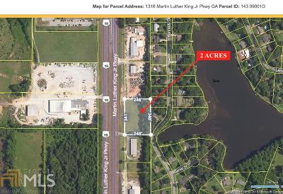 Griffin Commercial For Sale: 1316 Martin Luther King Jr Pkwy