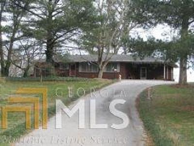 Habersham County Single Family Home New: 1880 Chase Rd