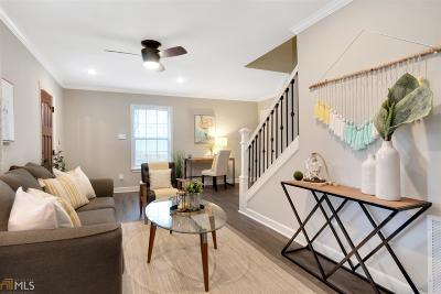 Atlanta Single Family Home New: 1115 Selwin Ave SW