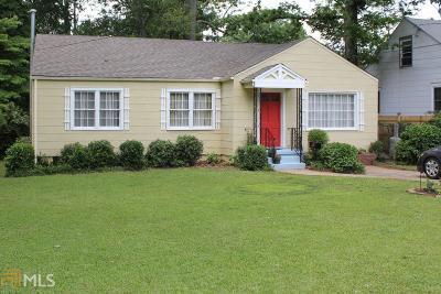 Atlanta Single Family Home New: 839 Braddock St