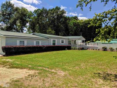 Statesboro Single Family Home New: 13355 Highway 67