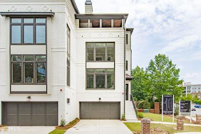 Fulton County Condo/Townhouse New: 3491 Roxboro Rd #1