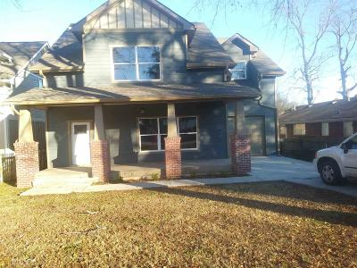 Fulton County Single Family Home New: 3362 Corville Avenue
