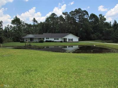 Statesboro Single Family Home New: 1710 Friendship Church Rd