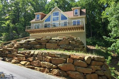Rabun County Single Family Home New: 619 King Mountain Dr
