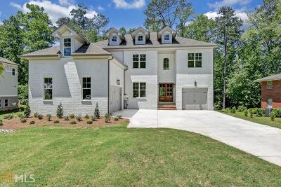 Cobb County Single Family Home New: 1417 Siesta Ln