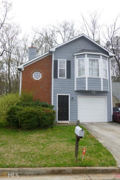 Decatur Single Family Home New: 3735 Oakwood Manor