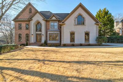 Roswell Single Family Home For Sale: 8505 Sentinae Chase Dr