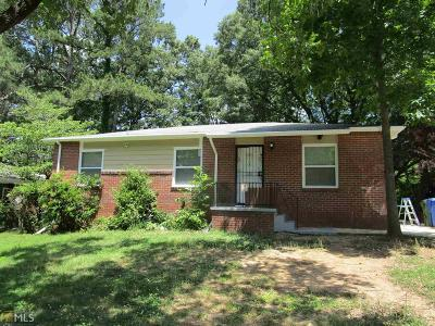 Atlanta Single Family Home New: 3663 Croft