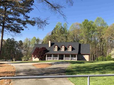 Hoschton Single Family Home For Sale: 6055 Jackson Trail Rd