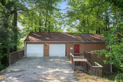 Decatur Single Family Home New: 3284 Hunt Wood Dr