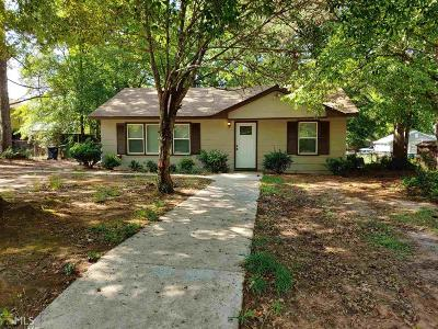 Griffin Single Family Home New: 1105 Gonza