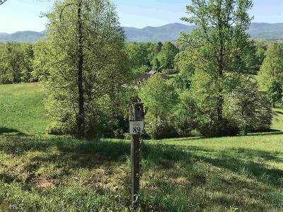 Blairsville Residential Lots & Land New: 89 Arbor Lane