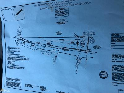 Dacula Residential Lots & Land For Sale: New Hope Rd