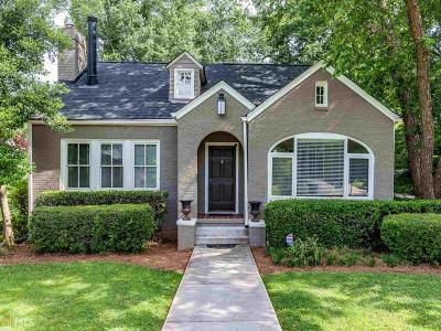 Atlanta Single Family Home New: 756 Cumberland Rd