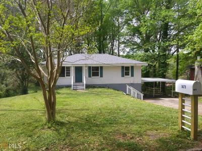 Decatur Single Family Home Back On Market: 1871 Hillsdale Dr
