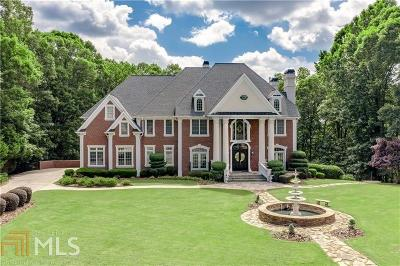 Suwanee, Duluth, Johns Creek Single Family Home For Sale: 9320 Riverclub Pkwy