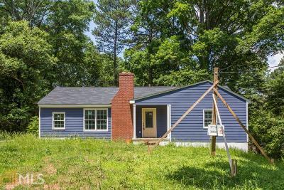Atlanta Single Family Home New: 1541 Pontiac Pl