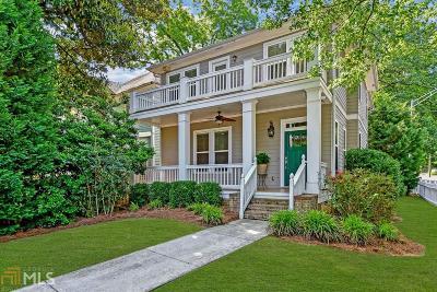 Atlanta Single Family Home For Sale: 261 Glenwood Ave