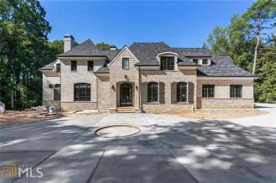 Atlanta Single Family Home New: 3995 Randall Mill Road