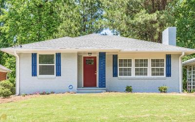 Atlanta Single Family Home New: 1765 Shirley