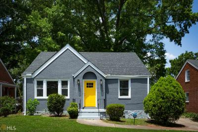 Decatur Single Family Home New: 2616 Northview Avenue