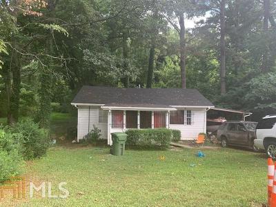 Atlanta Single Family Home New: 1969 Baker Rd