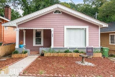 Atlanta Single Family Home New: 1022 Mayson Turner Rd