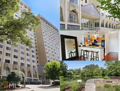 Condo/Townhouse New: 2479 Peachtree Rd #509