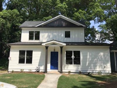 Atlanta Single Family Home New: 860 Westmont Rd