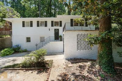 Atlanta Single Family Home New: 2167 Capehart Place NE