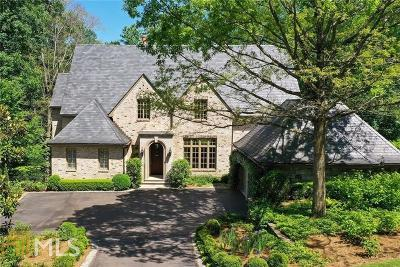 Fulton County Single Family Home New: 675 W Paces Ferry Road