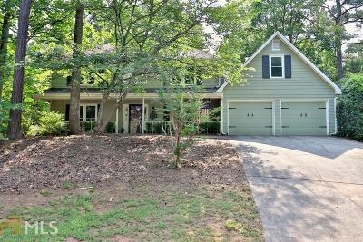 Cobb County Single Family Home New: 3774 Tulip Tree Road