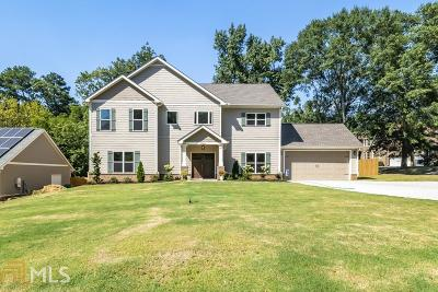 Decatur Single Family Home New: 2966 Pangborn Road