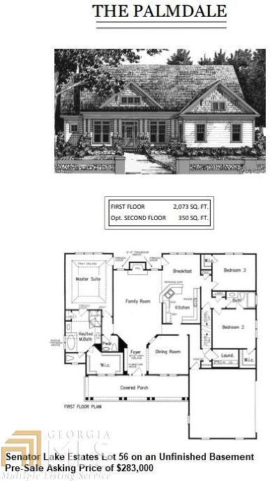 Paulding County Single Family Home New: 1081 Denton Rd