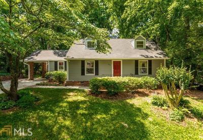 Atlanta Single Family Home New: 2578 Ridgewood Terrace NW