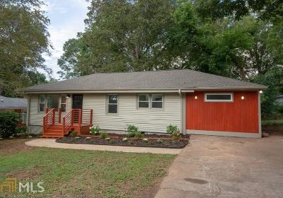 Decatur Single Family Home New: 1996 Meadow Lane
