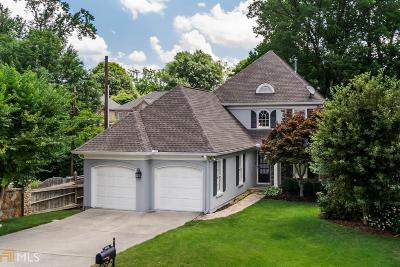 Single Family Home For Sale: 2321 Attaway Walk