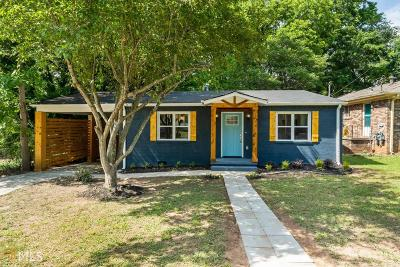 Hapeville Single Family Home For Sale: 253 Birch St