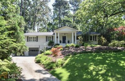 Atlanta Single Family Home For Sale: 1236 Wild Creek Trl