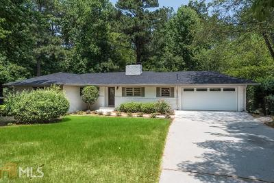 Sandy Springs Single Family Home For Sale: 506 Lorell Ter