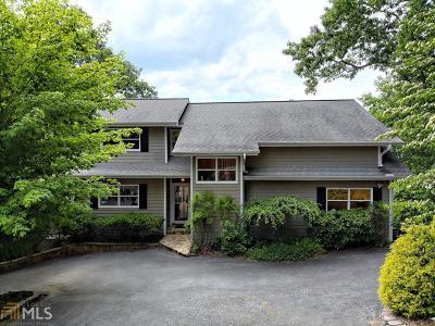 Rabun County Single Family Home For Sale: 320 Saddleback Cir