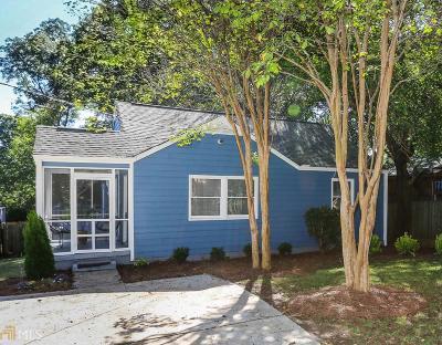 Atlanta Single Family Home Back On Market: 886 SE Stallings Ave