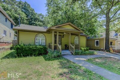 Peoplestown Single Family Home Under Contract: 1004 Fern Ave