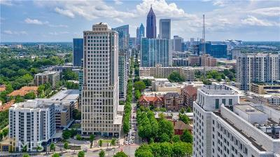 Midtown Condo/Townhouse For Sale: 1080 Peachtree St #2909